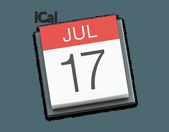 Sync iCal calendars