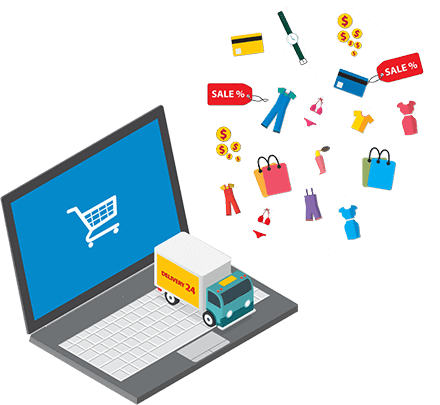 online shop - turnkey implementation